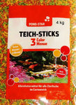 POND - STAR Teich - Sticks 3 Color Menue 4 kg